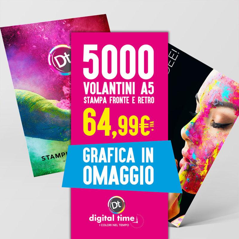 offerta-volantini-a5-digital-time-napoli